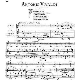 Un certo non so che, Medium Voice in A Minor, A.Vivaldi, Ed. Ricordi   eBooks   Sheet Music