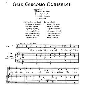 vittoria!vittoria!, medium voice in c major, g.g.carissimi, ed. ricordi