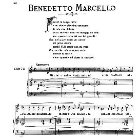 non m'è grave morir per amore, medium-low voice in c major, b.marcello. for mezzo, baritone. from: arie antiche (parisotti) -2-ricordi (1889