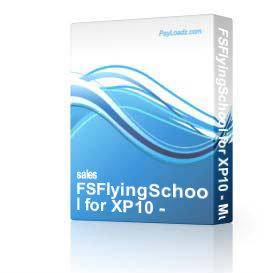 fsflyingschool for xp10 - multiple planes download 20% off