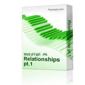 relationships pt.1