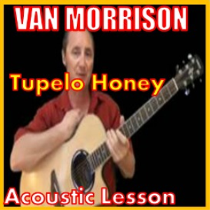 learn to play tupelo honey by van morrison