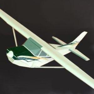 Paper Cessna Skylane | Crafting | Paper Crafting | Paper Models