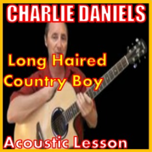 learn how to play long haired country boy by charlie daniels
