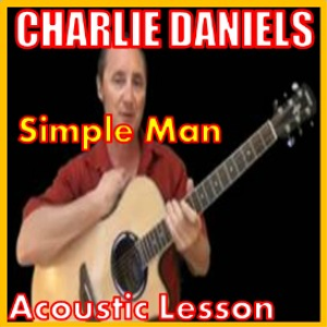 learn to play simple man by charlie daniels
