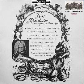 handel: rodelinda - opera in 3 acts