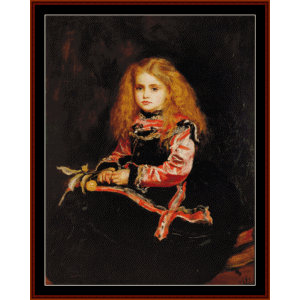 Souveneir of Velazquez - Millais cross stitch pattern by Cross Stitch Collectibles | Crafting | Cross-Stitch | Wall Hangings