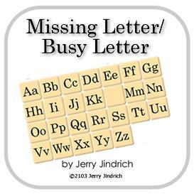 missing letter busy letter