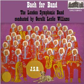 bach for band - london symphonic winds/williams