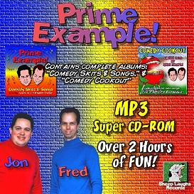 comedy cd special: both cds by prime example