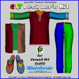 qtt designer's kit for veranil m4 outfit