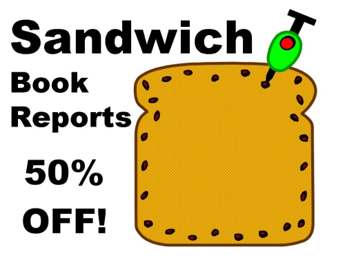 First Additional product image for - Sandwich Book Report 50% Off