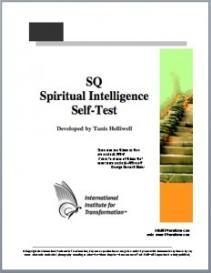 sq-spiritual intelligence self-test