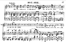 ach, ich fühl's, es ist verschwunden (soprano aria). w.a. mozart: die zauberflöte, k.620, vocal score (w. kienzl). universal edition ue 245 (1901)