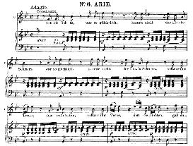 Ach Ich Liebte, War So Glücklich (Soprano Aria). W.A.Mozart: Die Entführung Aus Dem Serail, K.384, Vocal Score (G. Kogel). Ed. Peters (1881) | eBooks | Sheet Music