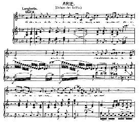 """al desio di chi t'adora (soprano aria). w.a.mozart k.577, from """"le nozze di figaro"""". vocal score (brüll). universal edition ue 177 (1901) italian"""