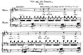 or sai, chi l'onore (aria for soprano). with recitative