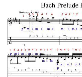 bach prelude bwv1006a arrangement.