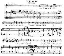 deh, se piacer mi vuoi (soprano aria). w.a.mozart: la clemenza di tito, k.621, vocal score. ed. peters leipzig, 1870 (italian)