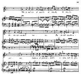 """tutte nel cor vi sento (aria for soprano). with recitative """"estinto e idomeneo..."""" w.a.mozart: idomeneo k.366, vocal score. ed. braunschweig-litolff 147 (1900) italian"""