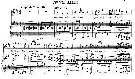 s'altro che lacrime (soprano aria). w.a.mozart: la clemenza di tito, k.621, vocal score. ed. peters leipzig, 1870 (italian)