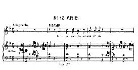 venite, inginocchiatevi (soprano aria). w.a.mozart: le nozze di figaro (the marriage of figaro), k. 492. vocal score (brüll). ed. universal edition ue 177 (1901) italian