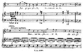 "smanie implacabili (aria for mezzo). with recitative ""ah scostati!"".  w.a.mozart: cosi fan tutte, k.588, vocal score (h. levi). universal edition (va 1666),, reprint from breitkopf (1898) italian"