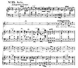 è amore un ladroncello (mezzo aria). w.a.mozart: cosi fan tutte, k.588, vocal score (h. levi). universal edition  (va 1666), reprint from breitkopf (1898) italian