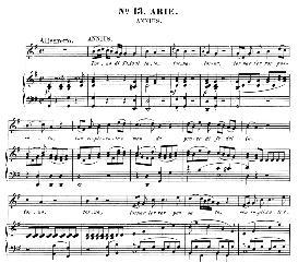 torna di tito a lato (mezzo aria). w.a.mozart: la clemenza di tito, k.621, vocal score. ed. peters leipzig, 1870 (italian)