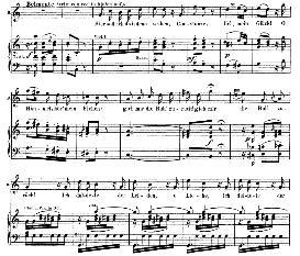 hier soll ich dich denn sehen, constanze (tenor aria). w.a.mozart: die entführung aus dem serail, k.384, vocal score (g. kogel). ed. peters (1881)