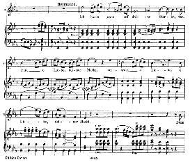 ich baue ganz auf deine stârke (tenor aria). w.a.mozart: die entführung aus dem serail, k.384, vocal score (g. kogel). ed. peters (1881)