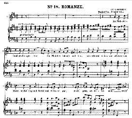 im mohrenland gefangen war (tenor aria). w.a.mozart: die entführung aus dem serail, k.384, vocal score (g. kogel). ed. peters (1881)