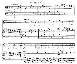 in quegli anni in cui val poco (tenor aria). w.a.mozart :le nozze di figaro, k. 492. vocal score (brüll). universal edition ue 177 (1901) (italian)
