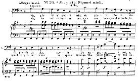 ah! pieta, signori miei (aria for bass). w.a.mozart: don giovanni, k.527, vocal score. ed. schirmer, it-engl (1900)