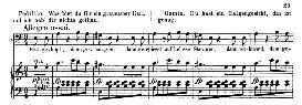 erst geköpft, dann gehangen (aria for bass). w.a.mozart: die entführung aus dem serail, k.384, vocal score (g. kogel). ed. peters (1881)