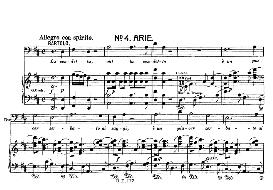 la vendetta, oh! la vendetta (aria for bass). w.a.mozart: le nozze di figaro (the marriage of figaro), k. 492. vocal score (brüll). universal edition ue 177 (1901) (italian)