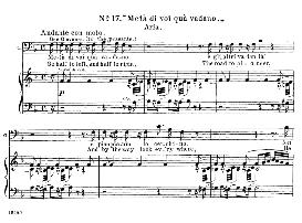 meta di voi, qua vadano (aria for baritone or bass). w.a.mozart: don giovanni, k.527, vocal score. ed. schirmer, it-engl (1900)