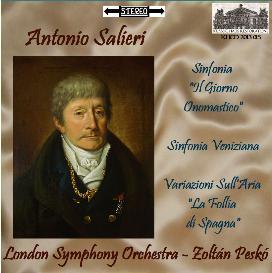 salieri: orchestral works