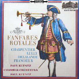 fanfares royales: music by charpentier, lulluy, delalande and francœur