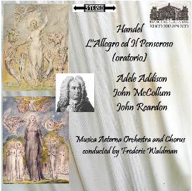 handel: l'allegro ed il penseroso - adele addison/john mccollum/john reardon - musica aeterna orchestra and chorus/frederic waldman