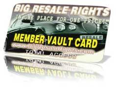 lifetime membership to big resale rights