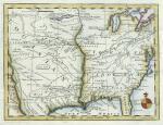 european possessions in america, 1763 (coloured)