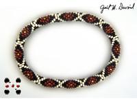 diamondback rattlesnake bead crochet pattern
