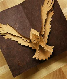 Hawk - EasyCutPopup | eBooks | Arts and Crafts