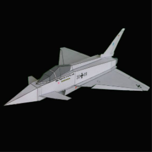 paper eurofighter german
