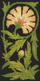 carnation cross stitch pattern