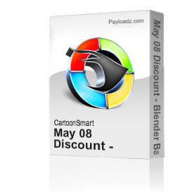 May 08 Discount - Blender Basics 3 and Caricatures- 778MB Zip | Movies and Videos | Educational