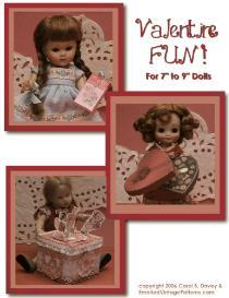 make fun valentine stuff - betsy ginny  kish riley  ann estelle  barbie