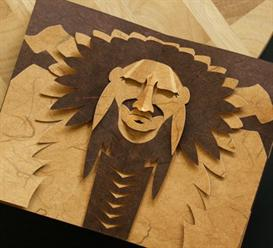 Chief - EasyCutPopup | eBooks | Arts and Crafts