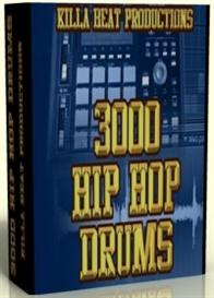 3000 Hip Hop Drums | Music | Soundbanks